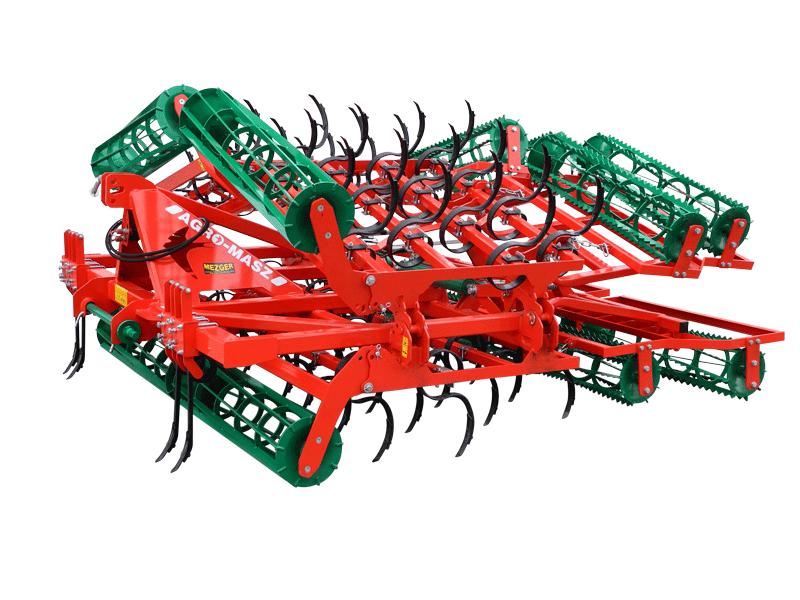 AGRO-MASZ AU in der Farbe rot