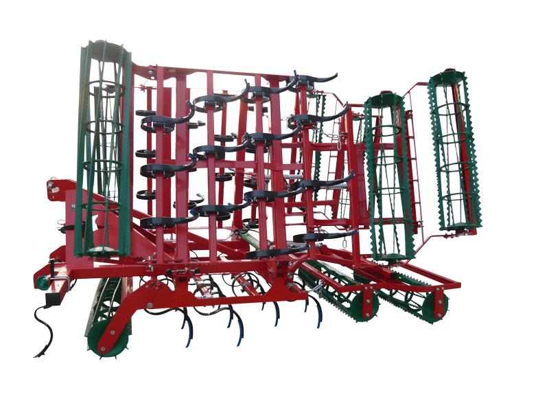 AGRO-MASZ AU 4,2m in der Farbe rot