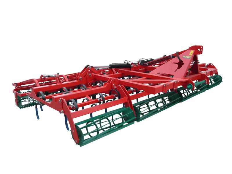 AGRO-MASZ AU 5,0m in der Farbe rot