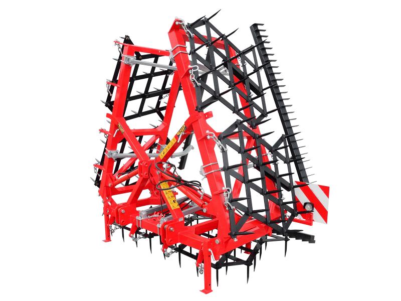 AX Ackeregge in der Farbe rot